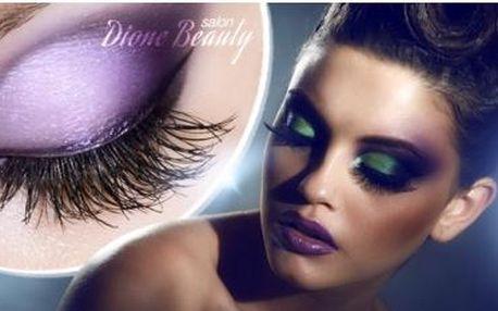 Prodloužení řas značkou Violet Lashes. Kvalitní syntetické norkové řasy pro přirozený vzhled za 90 až 120 minut.