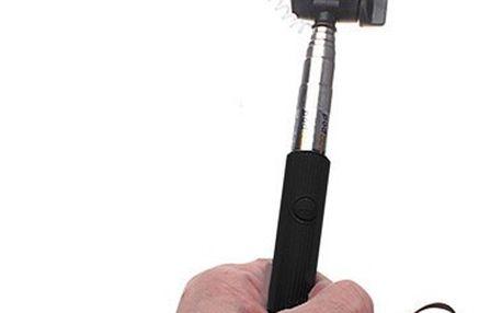 Selfie tyč s 3.5 mm kabelem - dodání do 2 dnů