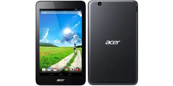 "Acer Iconia One 7 (B1-750-19GV) 7"", 16 GB, WF, BT, GPS, Android 4.4 černý"
