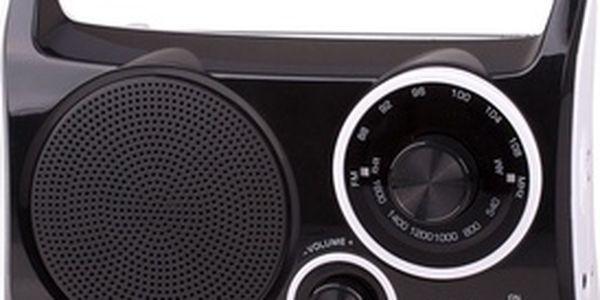 Radiopřijímač Trevi RA 762/černý