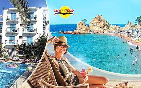 Španělsko - Costa Brava/Costa Maresme! Zájezd na 10 či 13 dní pro 1 osobu. Doprava, ubytování, polopenze/plná penze!