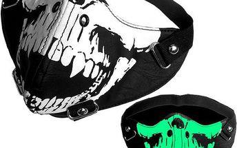 Stylová maska nejen pro motorkáře