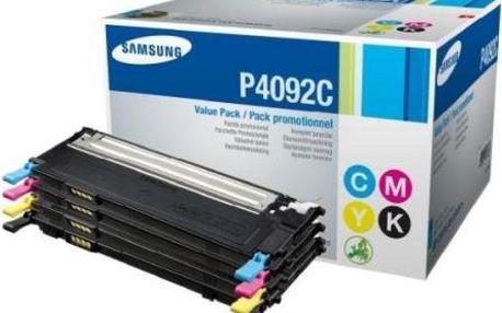 Toner Samsung CLT-P4092C, 1K stran - originální (CLT-P4092C/ELS) černý/červený/modrý/žlutý CLP-310/315/CLX-3170/3175 1000 stran CMYK