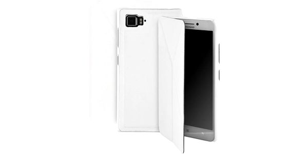 GoGEN Pouzdro na mobil pro Lenovo VIBE Z2 - bílá barva