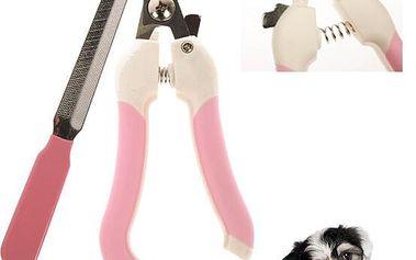 Kleště na psí drápky s pilníkem