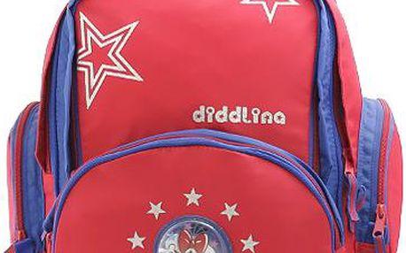 Diddl & Friends Školní batoh trolley Diddlina trolley Stars, Diddlina