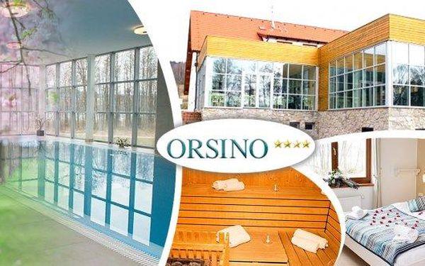 Jaro na Šumavě ve4* hotelu Orsino u lipenské přehrady!! Užijte si luxusní relaxaci v bazénu, sauně, masáž, dále výborné jídlo, welcome drink a výlety po nádherném okolí výhodně díky průvodci Grenzgenial!! Ideální také pro cyklisty - hotel leží přímo u cy