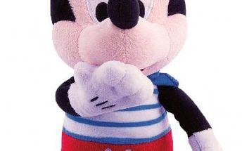 Teddies Mickey Mouse Kiss Kiss plyšový, Barevná