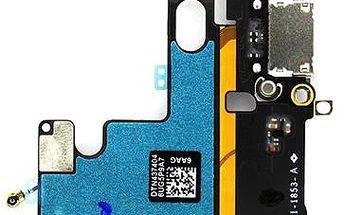 Apple flex kabel vč. dobíjecího konektoru pro iPhone 6 Silver