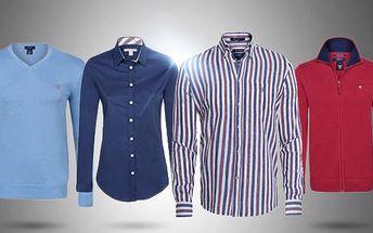 Pánské oblečení značky Gant a dámské Burberry! 100% bavlněný svetr nebo košile v různých barvách a velikostech!