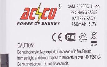 Accu baterie za Samsung SGH GT-S5200, S5200C 750mAh Li-Ion