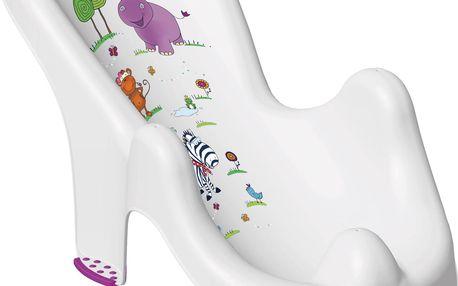 OKT Anatomické lehátko Hippo, bílé
