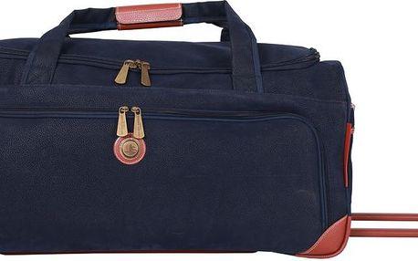 Cestovní taška na kolečkách Jean Louis Scherrer Navy, 76.5 l - doprava zdarma!