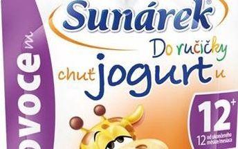 Sunárek Do ručičky s ovocem a jogurtem 2x80g