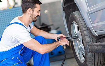 Přezutí pneumatik nebo přehození kol