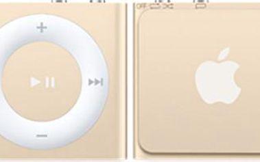 Apple iPod shuffle - 2GB, zlatá, 4th gen. - MKM92HC/A