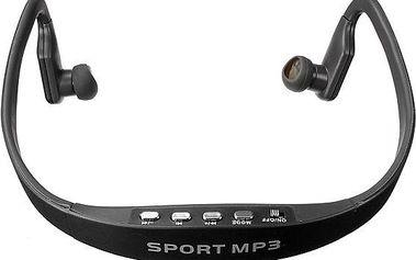 Sportovní bezdrátová sluchátka s MP3 přehrávačem - dodání do 2 dnů