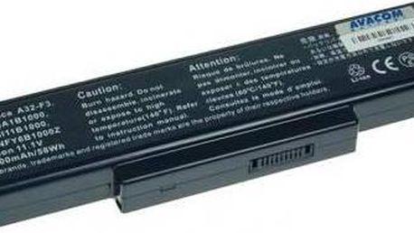 Avacom pro Asus F2 series, F3U/F3P/F3SR Li-Ion 11,1V 5200mAh (NOAS-F3-806)