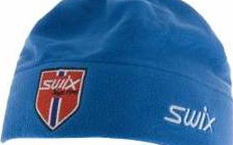 SWIX čepice FRESCO modrá - vhodná na lyžování a další zimní sporty