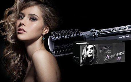 Rotační kartáč pro profesionální úpravu vlasů u vás doma