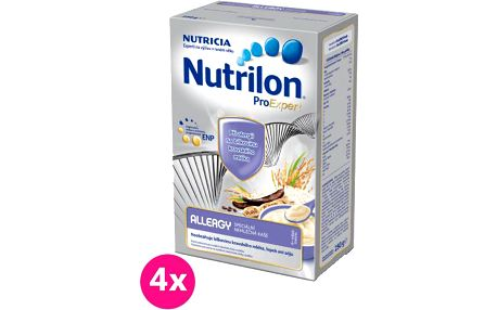 4x NUTRILON ProExpert Allergy (250 g) - nemléčná kaše