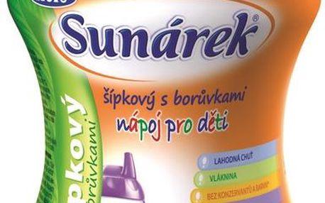 Sunárek Rozpustný nápoj šípkový s borůvkami 200g (bez sacharózy)