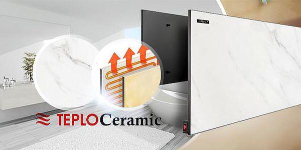 Keramický topný panel Teploceramic 450! Průlomová technologie v oblasti elektrického vytápění.