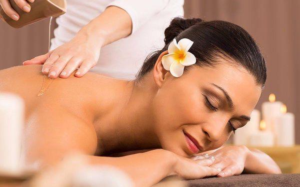 90 minut relaxace – výběr z 6 druhů masáží