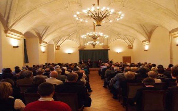 Jarní gala koncert 19.4. ve vytápěném refektáři Emauzského kláštera: MOZART-DVOŘÁK-SMETANA aj.