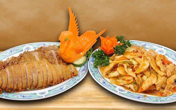 Čínské speciality servírované v 70m výšce