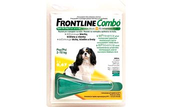 Frontline Combo Spot - on Dog S 1 x 0,67 ml (pes 2 - 10kg)