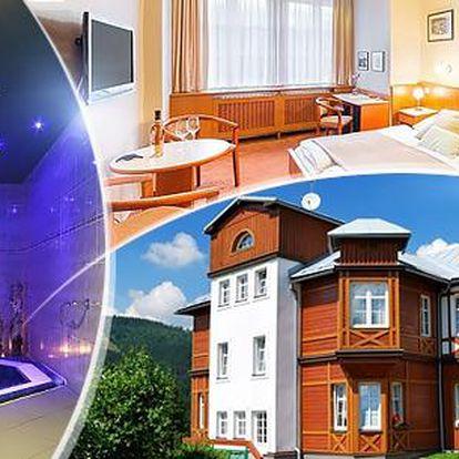 Krkonoše, Špindlerův Mlýn na 3-6 dní pro dva v Hotelu Sněžka**** s polopenzí, mini ZOO a privátním wellness!