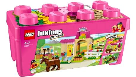 LEGO® Juniors 10674 Farma pro poníky