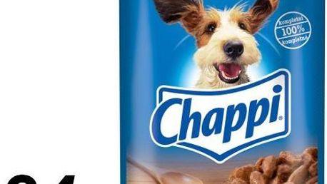 Chappi kapsička s hovězím masem 24 x 100g