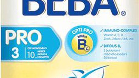 NESTLÉ Beba 3 PRO (600 g) - kojenecké mléko