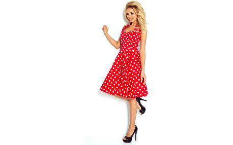 Rockabilly šaty se šněrovačkou Brigitte