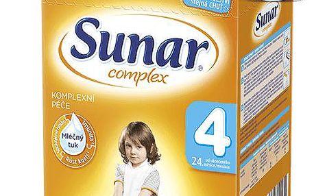 12x SUNAR Complex 4 (600g) – kojenecké mléko