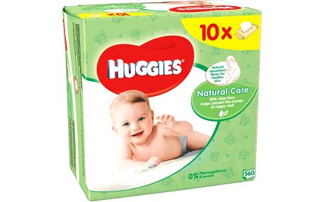 Huggies wipes Natural Care 10x56ks