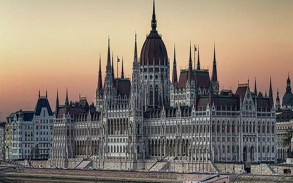 Budapešť pro DVA s neomezeným hýčkáním ve wellness