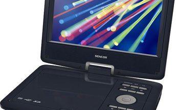 Přenosný DVD přehrávač Sencor SPV 2919 BLUE