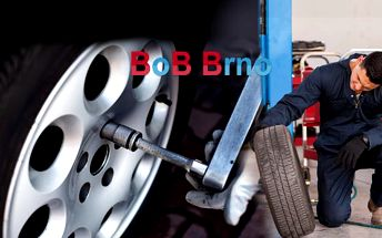 Profesionální přezutí pneumatik nebo výměna celých kol na osobním voze, včetně vyvážení!