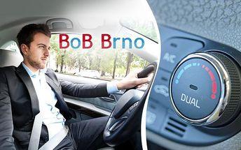 Kompletní péče o klimatizaci vašeho vozu! Plnění, odsání, vakuování, zkouška těsnosti a vstřik nového oleje!