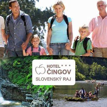 Wellness pobyt ve Slovenském ráji v hotelu Čingov***