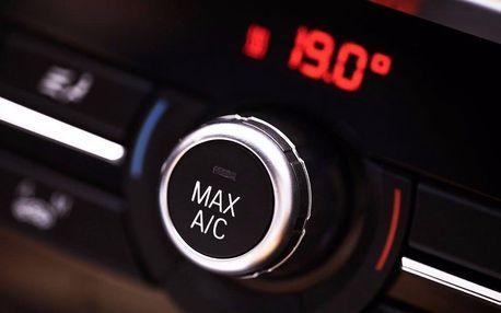 Plnění klimatizace a výměna oleje v kompresoru