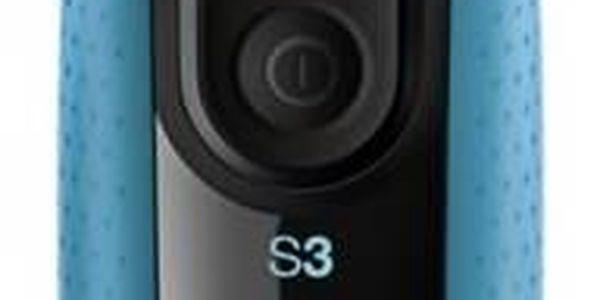 Holicí strojek Braun Series 3 Series 3 3010s Wet&Dry bílý/modrý