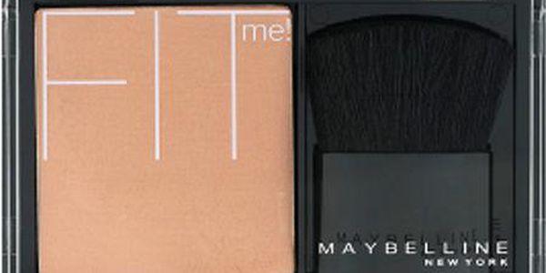 Maybelline Fit Me tvářenka růž na tváře 120 Light Pink 4,5 g