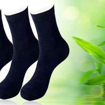 12 párů antibakteriálních ponožek s bambusovými vlákny