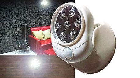 Bezdrátové LED světlo s detektorem pohybu