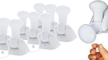 8 ks bezdrátových žárovek Handy Bulb
