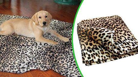 Příjemná deka pro domácí mazlíčky